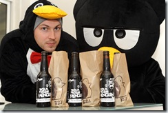 BREW DOG  -  TACTICAL NUCLEAR PENGUIN - THE WORLD'S STRONGEST BEER. PICS DUNCAN BROWN